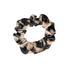 Your Little Miss Mini scrunchie leopard brown