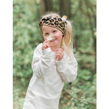 Your Little Miss Leopard hoofdband voor meisjes twist