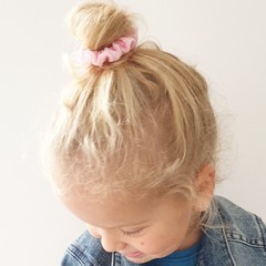 Your Little Miss Mini scrunchie pink