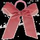 Your Little Miss Haarstrik  met elastiek old pink velvet
