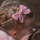 Your Little Miss Meisjes haarband old pink
