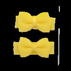 Your Little Miss Baby haarspeldjes met strik yellow