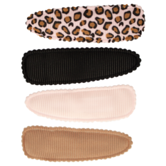 Your Little Miss Setje meisjes haarspeldjes pink leopard basics