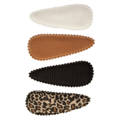 Your Little Miss Setje baby haarspeldjes leopard basics