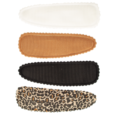 Your Little Miss Setje meisjes haarspeldjes leopard basics