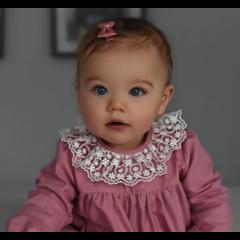 Your Little Miss Baby haarspeldje old pink