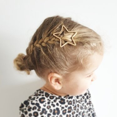 Your Little Miss Haarspeldje star gold