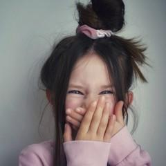 Your Little Miss Velvet scrunchie soft pink