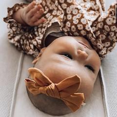 Your Little Miss Meisjes haarband ochre
