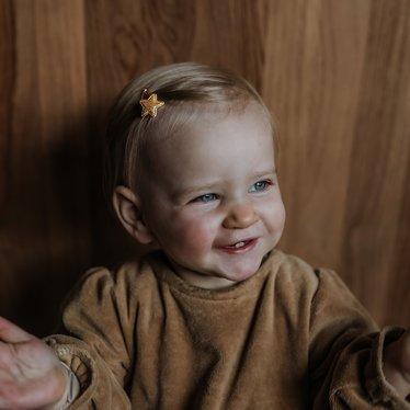 Your Little Miss Baby haarspeldjes stars