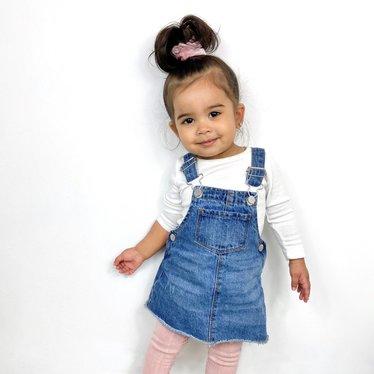 Your Little Miss Mini scrunchie soft pink