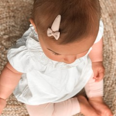 Your Little Miss Setje baby haarspeldjes met strik powder tones