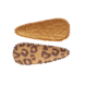 Your Little Miss Setje baby haarspeldjes leopard leather