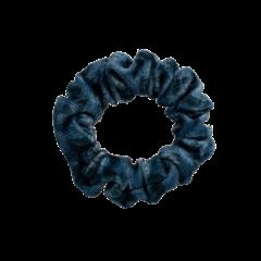 Your Little Miss Mini scrunchie dark blue
