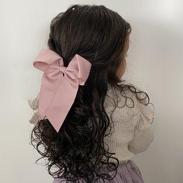 Your Little Miss Haarstrik met elastiek antique mauve