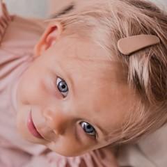 Your Little Miss Basic haarspeldjes mat tan