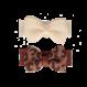 Your Little Miss Baby haarspeldjes met strik animal