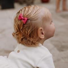 Your Little Miss Baby haarspeldje purple