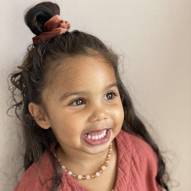 Your Little Miss Velvet scrunchie autumn
