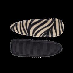 Your Little Miss Setje meisjes haarspeldjes grey/white zebra