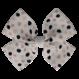 Your Little Miss Haarspeldje met strik large dots