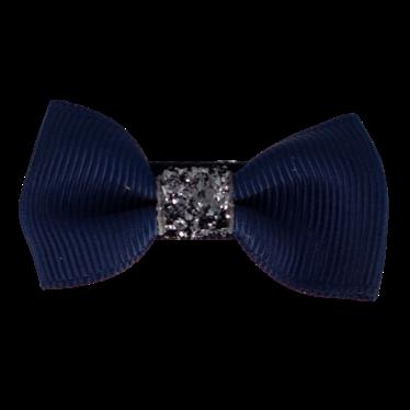 Your Little Miss Baby Haarspeldje navy & sparkle
