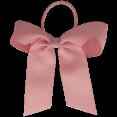 Your Little Miss Haarelastiek met grote strik - rose quartz