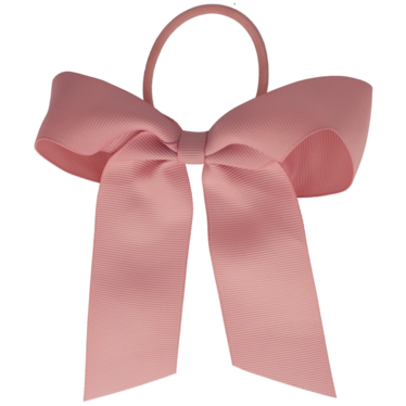 Your Little Miss Haarstrik met elastiek rose quartz