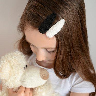 Your Little Miss Setje meisjes haarspeldjes teddy moon
