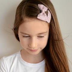 Your Little Miss Haarspeldje pink zebra