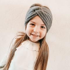 Your Little Miss Hoofdband voor meisjes twist winter