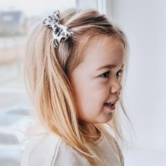 Your Little Miss Haarspeld met strik - leopard fever