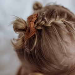 Your Little Miss Baby haarspeldje winter check