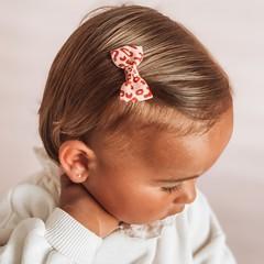Your Little Miss Baby haarspeldje met strikje - gold animal