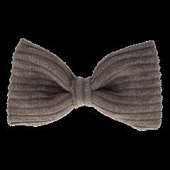 Your Little Miss Haarspeldje grey rib