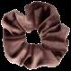 Your Little Miss Medium velvet scrunchie winter mauve