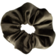 Your Little Miss Medium velvet scrunchie silver