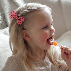 Your Little Miss Haarspeld met strik - flower