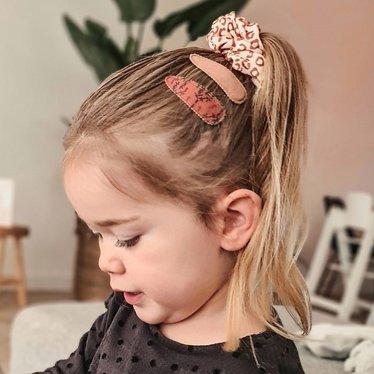 Your Little Miss Medium scrunchie gold animal