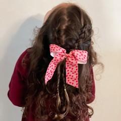 Your Little Miss Haarstrik met elastiek flower