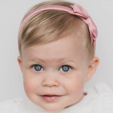 Your Little Miss Diadeem rosy mauve