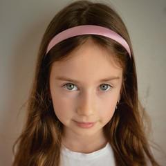 Your Little Miss Smalle diadeem van satijn - rose quartz satin