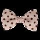 Your Little Miss Haarspeldje pink dots