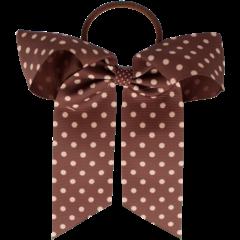 Your Little Miss Haarstrik met elastiek chutney dots