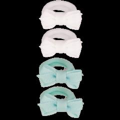 Your Little Miss Setje van 4 kleine elastiekjes minimal ice