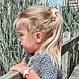 Your Little Miss Setje van 2 elastiekjes met strik rust
