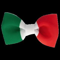 Your Little Miss Haarspeld met strik - Italian flag