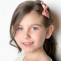 Your Little Miss Haarspeld met strik - gold animal