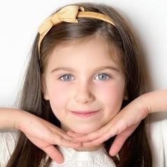 Your Little Miss Diadeem met strik - gold