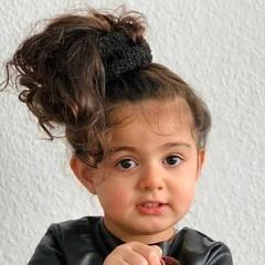 Your Little Miss Scrunchie - teddy black
